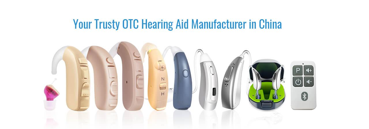 OTC Hearing Aid Manufacturer