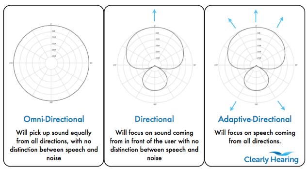 Adaptive Directional Microphones