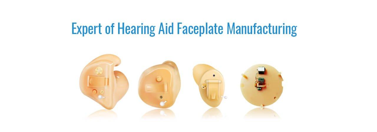 hearing aid faceplate supplier